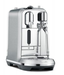 Nespresso Creatista Plus Espresso and Coffee Beverages Maker with Milk Frother by Breville, Silver